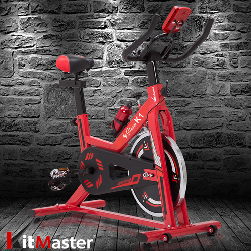 KitMaster® Storm Fitness Workout Machine Exercise Bike/Cycle Gym Trainer  Cardio