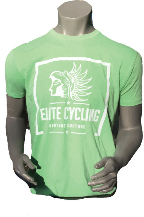 Elite Cycling Vintage Couture Shirt - GREEN