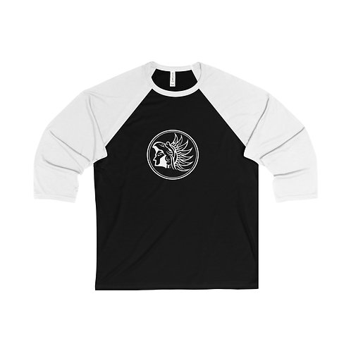 ELITE Cycling Couture Riding Baseball T-Shirt (Black)