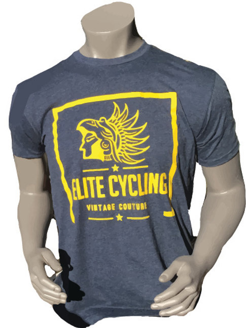Elite Cycling Vintage Couture Shirt - BLUE