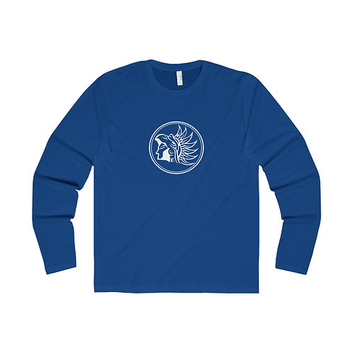 ELITE Cycling Couture Riding Long-Sleeve T-Shirt (Royal Blue)