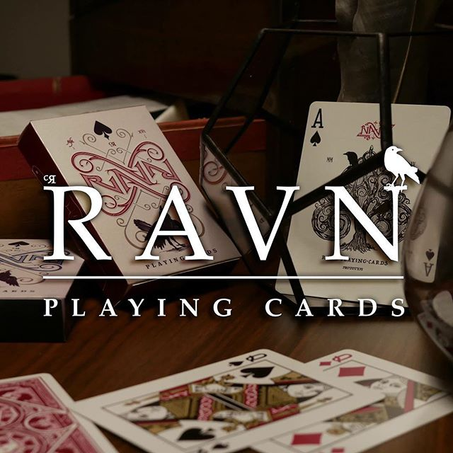 #ravnplayingcards kickstarter campaign in about 2 weeks..