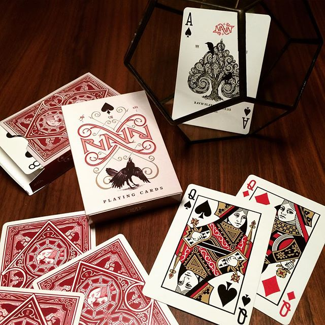 Ravn Playing Cards, one of the pictures we took for the kickstarter campaign