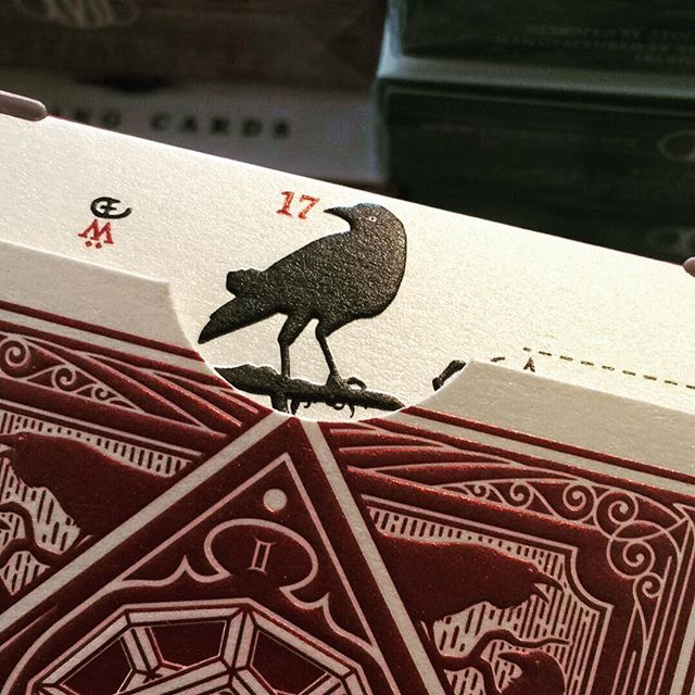 the Raven landed in Stockholm 🎉🎉 uspcc sent us a split brick 😁♦️ the embossing is awesome on this