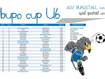 BuPo Cup U6 - Spielplan :)