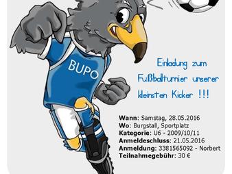 BuPo Cup U6 - Turnier für unsere kleinsten Kicker! :)