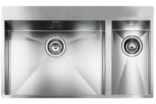 FILOQUADRA Mix Built-in Sink (2 bowls)