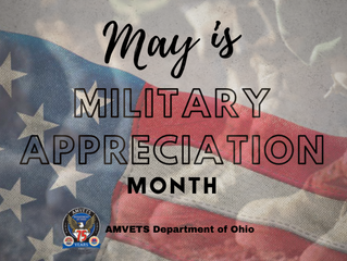 May is Military Appreciation Month