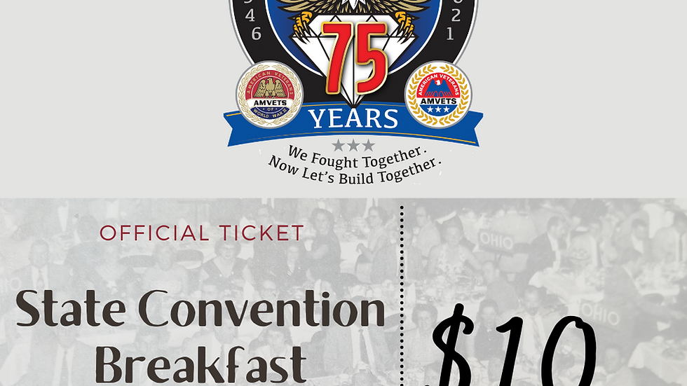75th State Convention Breakfast