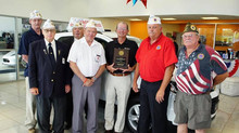 Ohio AMVETS honors Pat O'Brien as Employer of the Year in Vermilion