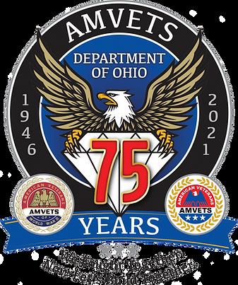 Amvets Ohio '75th Anniversary' Logo.png