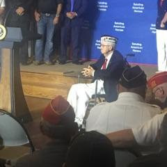 President of the United States Visit AMVETS Post 44 in Struthers, Ohio