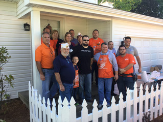 Home Depot, Post 44 Partner to help Disabled Veteran