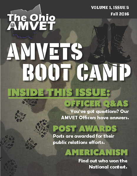 The Ohio AMVET, Vol 1 Issue 1