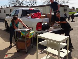 AMVETS Book Drive Donates 2,000 Books to Columbus, Ohio Godman Guild