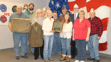 Found in Kenton attic, family reunited with dad's service uniform, plaque