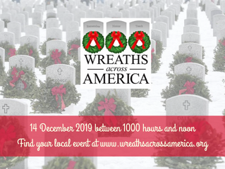 National Wreaths Across America Day is Dec. 14