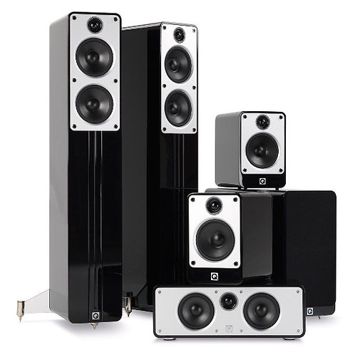 Q-Acoustics Concept 5.1 Home Cinema Speaker Pack
