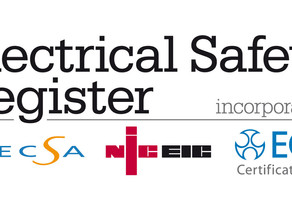 Are you using an unregistered electrician? Make sure they are a member of NICEIC
