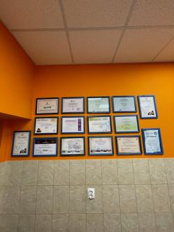 Сертификаты ветрачей, ветклиника в Солнцево