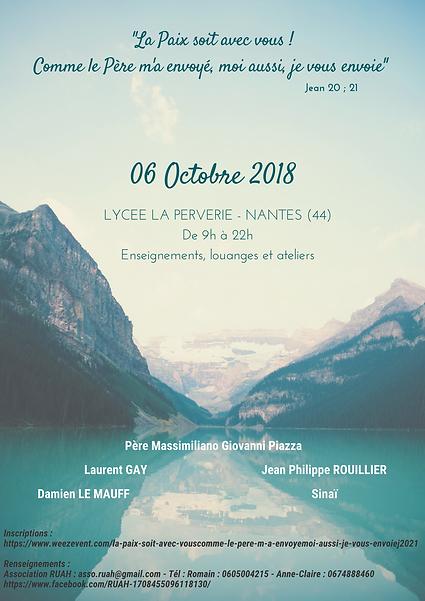 6 octobre 2018 flyer