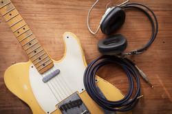 electric acoustic classic guitar