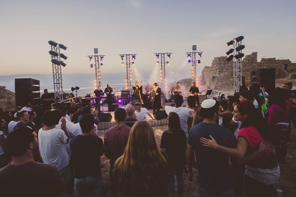 שולי רנד ושי צברי - פסטיבל התמר - 2015 - מצדה