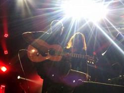בהופעה עם ירדנה ארזי והגבעטרון