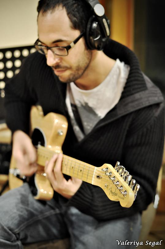 הקלטות לאלבום של צחי פודור