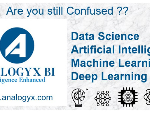 Data Science, Artificial intelligence (AI), Machine learning (ML) & Deep learning (DL)