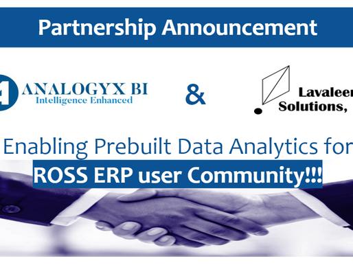 Prebuilt DATA Analytics for ROSS ERP