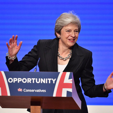 Confession : I made Theresa May dance in her 2018 conference speec