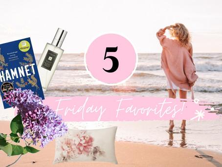 5 X FAVORIET OP VRIJDAG - WEEK 15