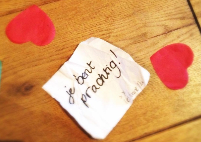 Post-it with a beautiful text