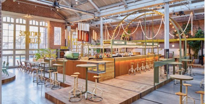 Interior-Kanarieclub-bar-restaurant-Amsterdam-de-Hallen