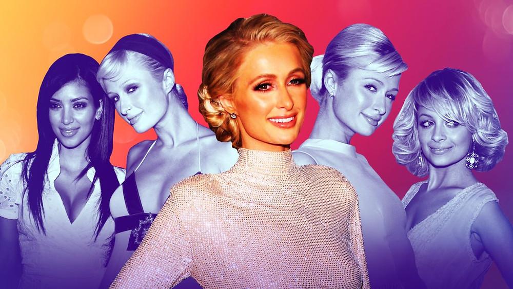 Paris Hilton-Nicole-Ritchie-Kim-Kardashian-collage
