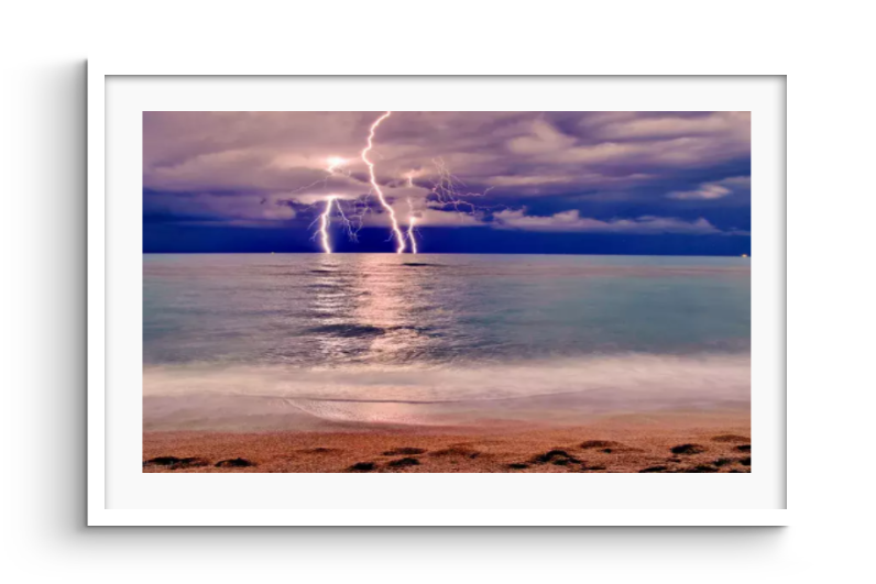 Canvas-picture-lightning-nature