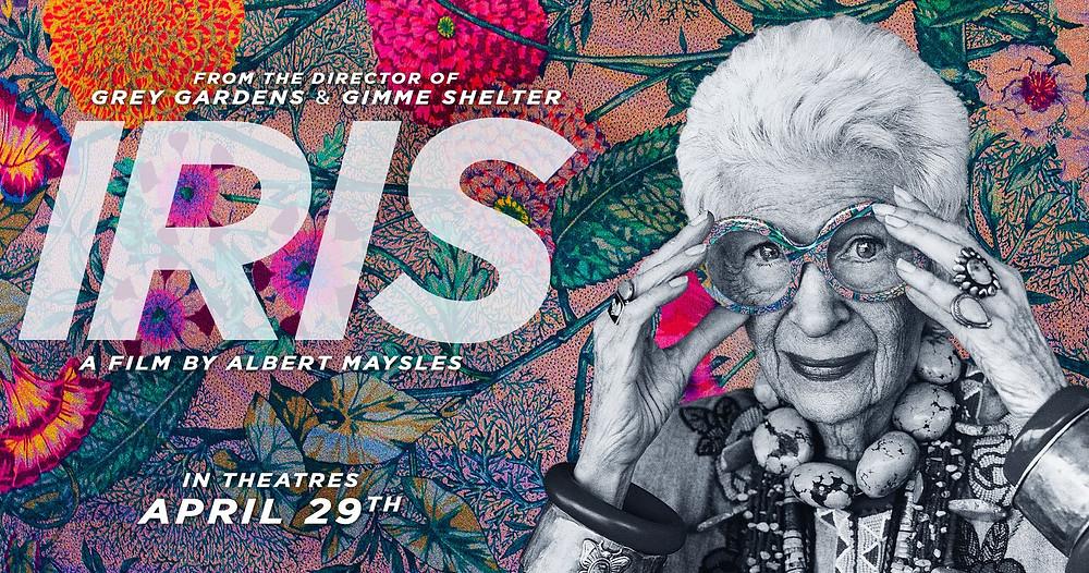 Filmposter of documentary Iris Apfel