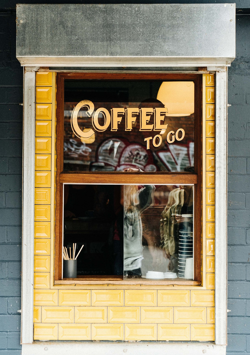 Coffee to go restaurant