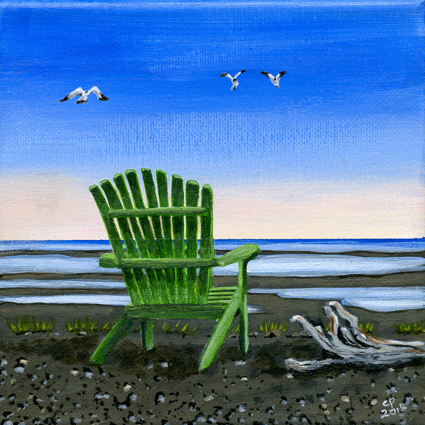 The Peace Chairs 1 of 4