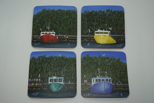 Seas the Day (Coasters)