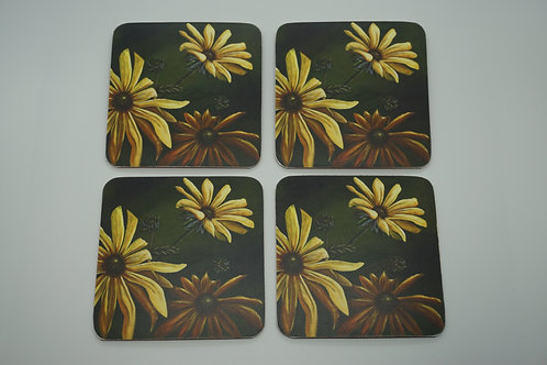 Among the Flowers (Coasters)