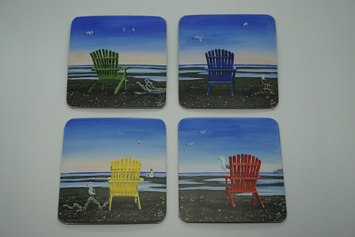 The Peace Chairs (Coasters)