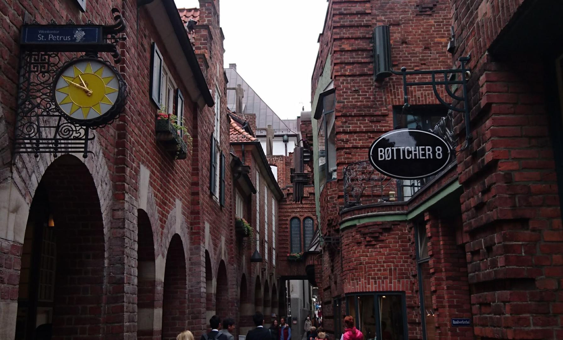Böttcherstraße Bottcherstrasse