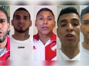 Jugadores de la selección lanzan campaña.