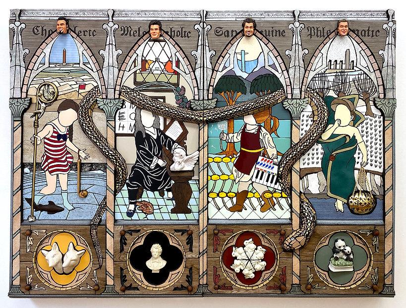 temperaments mosaic bricolage joe bochynski