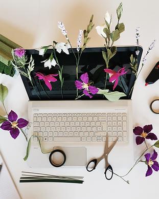 Wild Hive Online Paper Flower Workshops