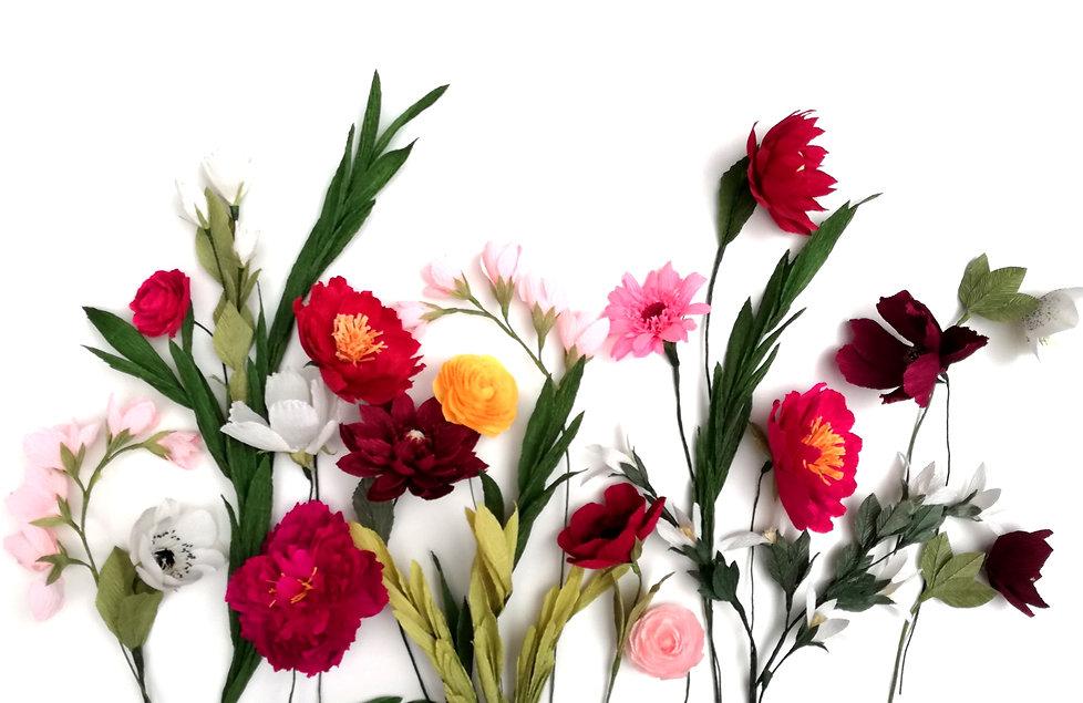 Wild Hive Paper Flowers