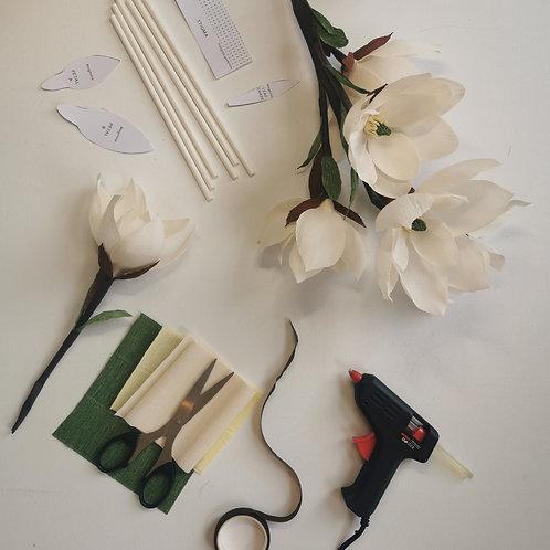 Paper Magnolia Kit