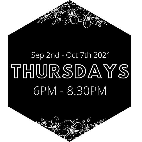 Every Thursday Evening - Priority Booking Sep 2nd to Oct 7th